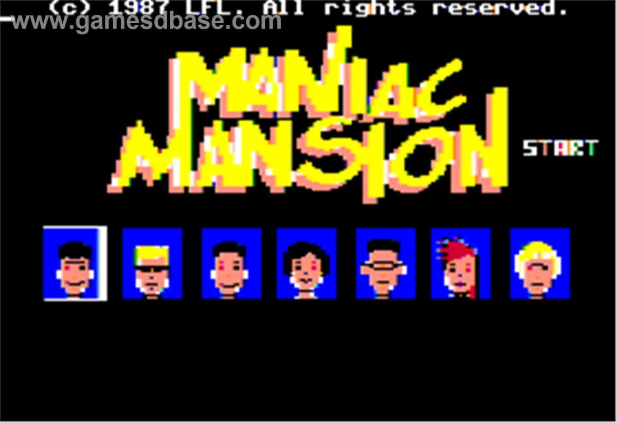 Video Game History: Maniac Mansion