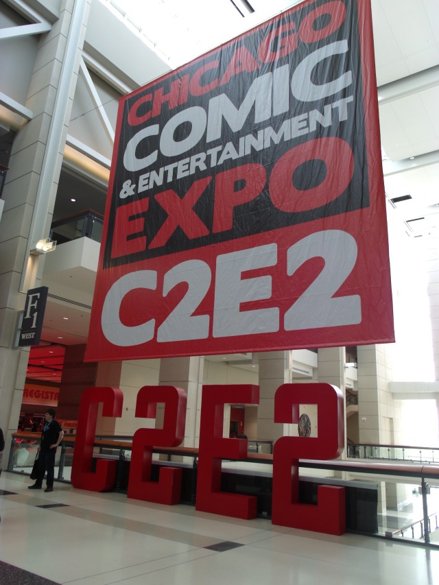 The Great and Powerful C2E2!