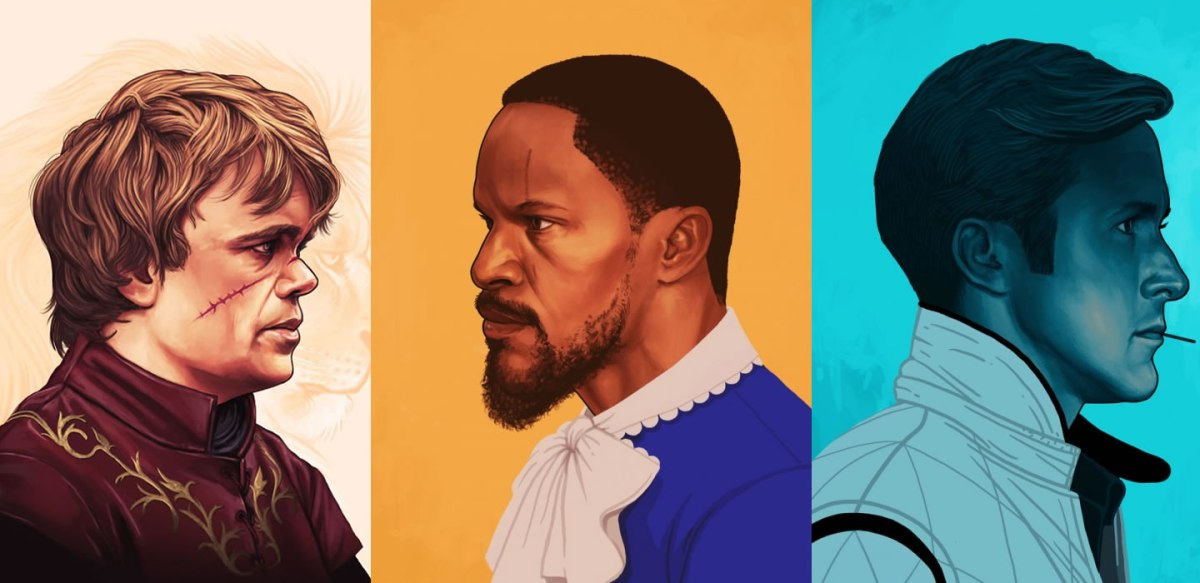 Fan Art Friday: Mike Mitchell's Character Portraits
