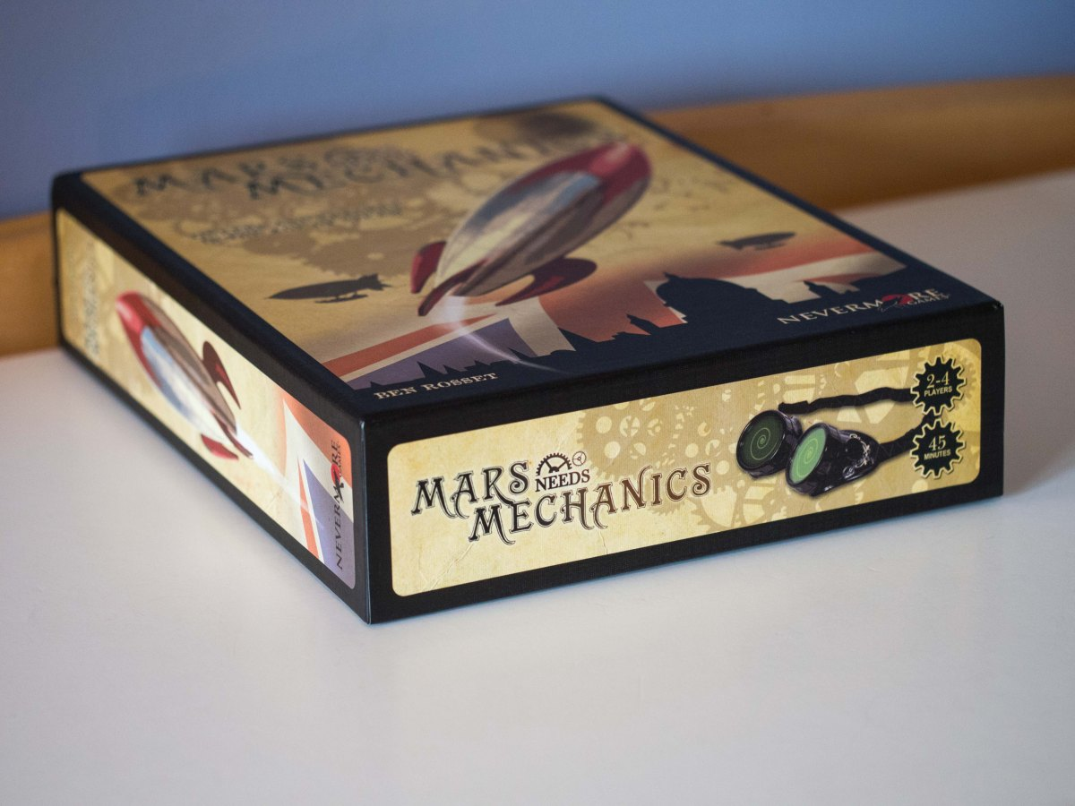 The Clockwork Rooster Rings Twice: A Review of Mars Needs Mechanics