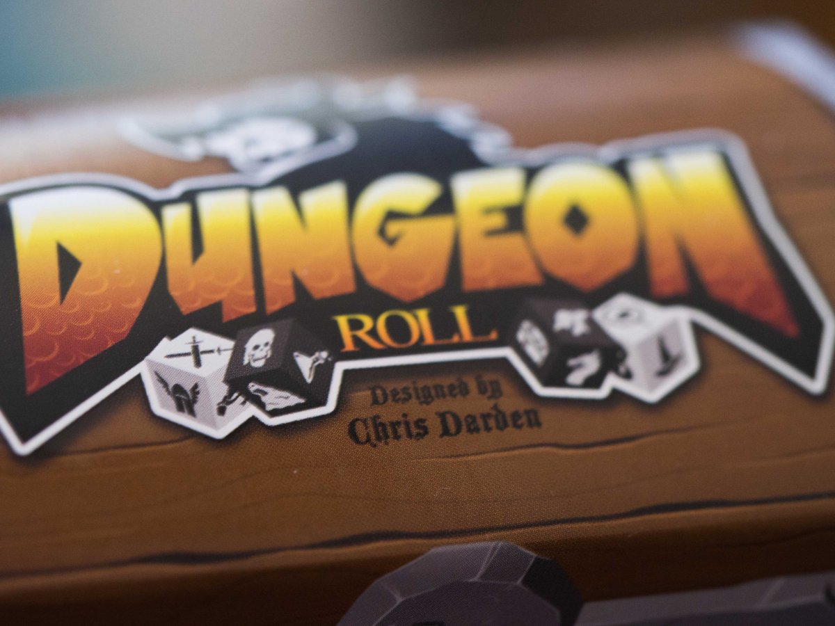 Mage vs. Ooze: A Review of Dungeon Roll