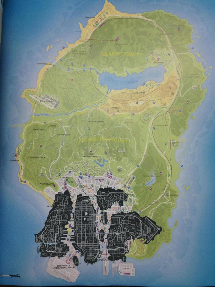 How Big is Los Santos in GTA V Compared to Liberty City in GTA IV?