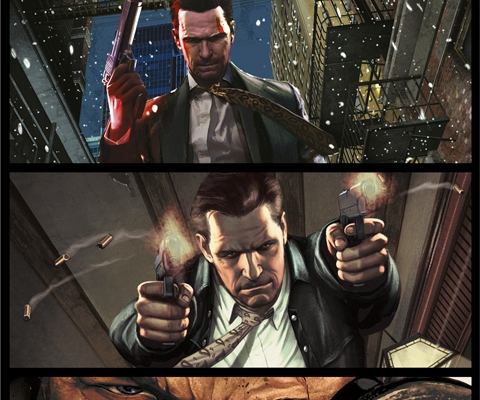 Max Payne 3 The Complete Series Graphic Novel Reviewanother Castle