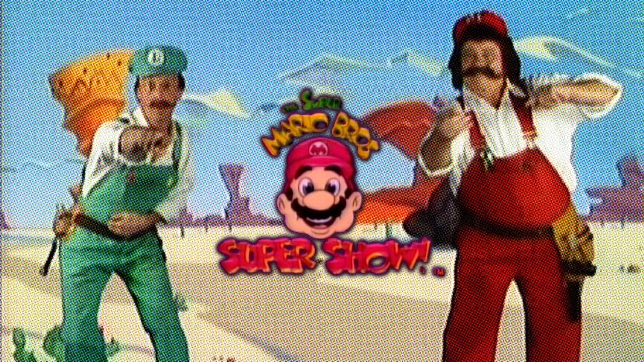 Saturday Morning Cartoons Super Mario Bros Super Showanother Castle