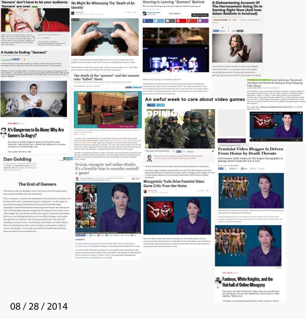 The gaming media blitz